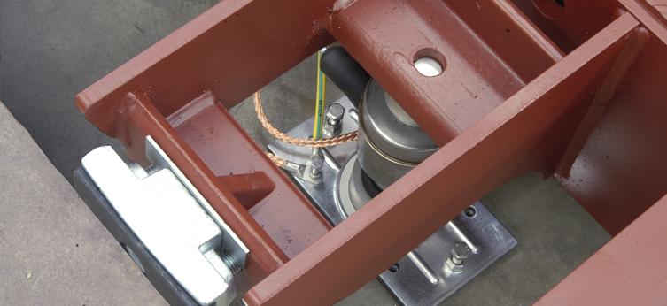 Pesa a ponte in metallo SBP-M