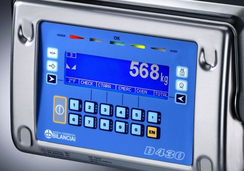 Terminale Inox serie D430