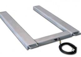 Piattaforma ad U per pesatura merci su transpallet BPU.IT