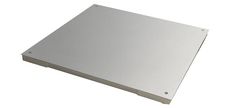 Piattaforma in acciaio inox e cella inox PRM-CX 600-8000 kg