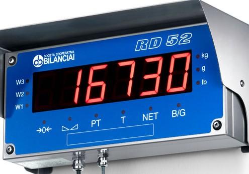 RD52HL Ripetitore di peso ad alta intensità